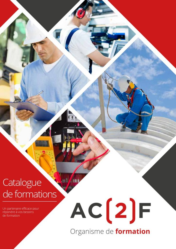 Catalogue Formations AC2F 2021